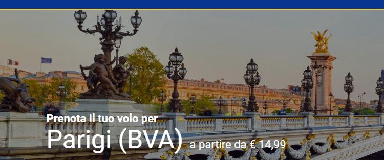 Voli Ryanair per Parigi da 14,99€ » Viaggiafree