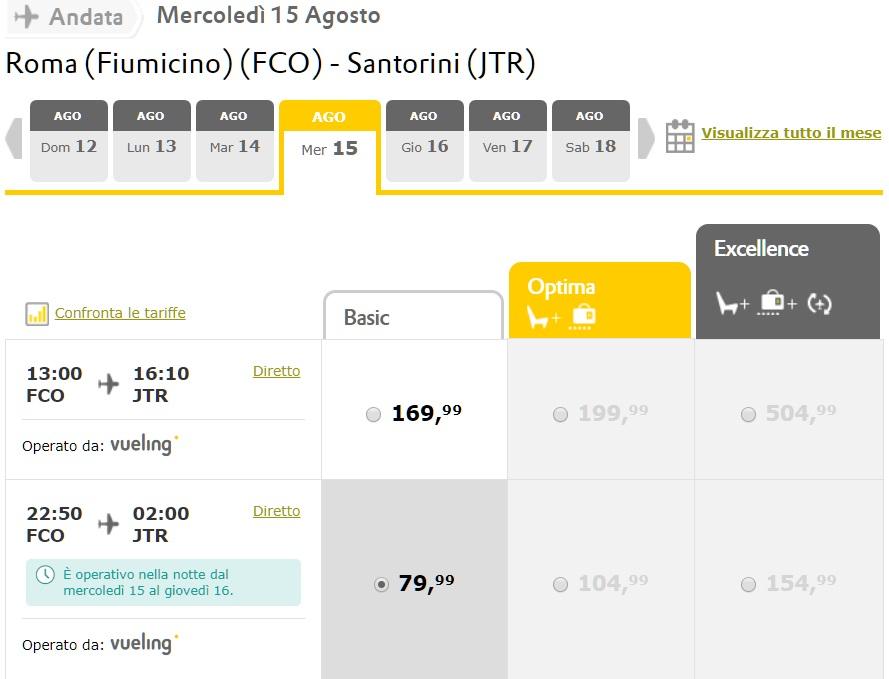 Santorini ad agosto: 8 giorni a 606€ Volo+Soggiorno » Viaggiafree