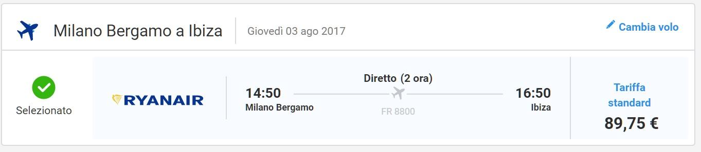Ibiza ad agosto: 7 giorni a 574€ Volo+Soggiorno » Viaggiafree