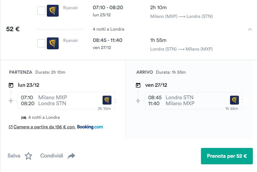 Natale a Londra 2019 a 113€ Volo+Soggiorno » Viaggiafree